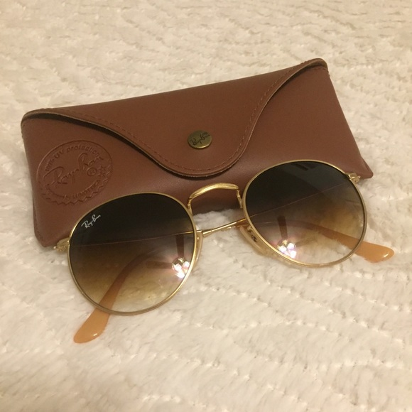 df10b9fadcc NWT Ray-Ban Round Metal Sunglasses
